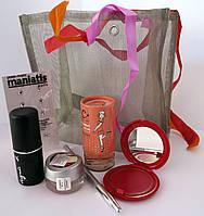Подарочный набор косметики Карандаш+Румяна+Блеск+Тональный карандаш+Духи+стразы(в ассортименте)
