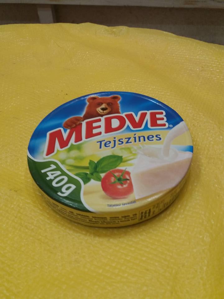 Сыр высокого качества без химии порционный *Medve*Венгрия