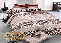 Комплект постельного белья семейный, ранфорс 100% хлопок. Постільна білизна сімейна. (арт.6431)