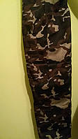 Штаны камуфляжные мужские теплые на флисе