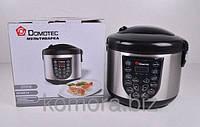 Многофункциональная мультиварка Domotec DT-518, мультиварка 5 литров 15 режимов приготовления