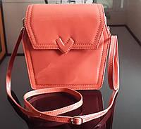 Маленькая стильная женская сумочка-клатч Valenta из натуральной кожи