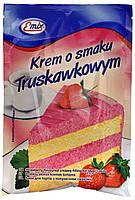 Емікс сухий крем Krem o smaku  Truskawkowym 100г.