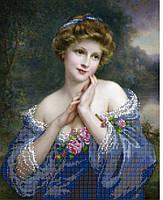 Схема для вышивки бисером Лик женской красоты