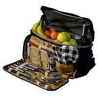 Термосумка Скаут 0719 в комплекте с походным набором для пикника