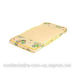 Детский непромокаемый наматрасник 'Поверхность Premium' 60x80, желтый