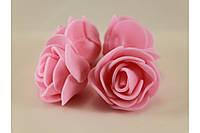Роза розовая 2030-13-11 (мелкая)