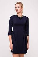 Платье с ожерельем FORT фиолетовое