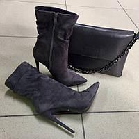Ботинки в стиле Louboutin демисезонные