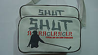 "Сумка школьная через плече ""Shut"" подростковая, 320х240*120мм,Искуст. кожа .Сумка шкільна через плече ""Shut"",3"