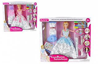 "Кукла типа ""Барби""Создай сам"" 902 , с аксессуарами в наборе"