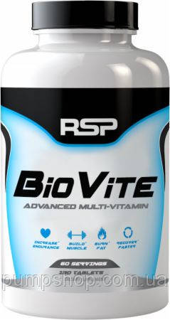 Вітаміни RSP BioVite Multivitamin 90 таб.