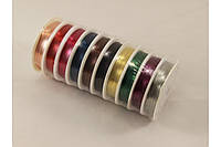 Проволока для бисера: 0,3 мм разноцветная