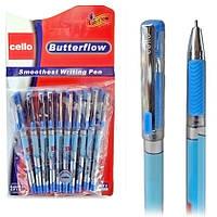 Ручка CELLO BUTTERFLOW EL-536, синий