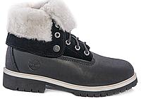 Ботинки женские  Timberland - 07w (мех)