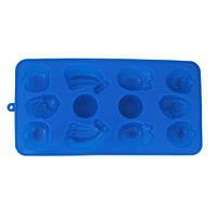 Форма силиконовая Kamille для льда 21.5*11*1.5см