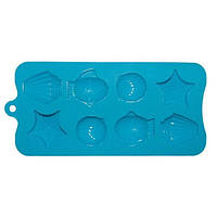 Форма силиконовая Kamille для льда 22*10*1.5см