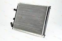 Радиатор охлаждения двигателя на Renault Kangoo 97->2008 1.2 (+AC)  — Thermotec (Китай) - D7R029TT