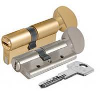 Цилиндровый механизм с вертушкой 164 DBM-E/100 (45+10+45) mm 5 кл.