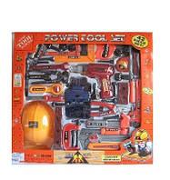 Набор инструментов 2009  батар., 42 детали, каска, дрель, молоток, в кор. 58 * 9 * 54см