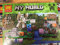 Конструктор LELE my world  Железный Голем (аналог LEGO minecraft)