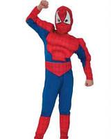 Спайдермен Человек-паук с мышцами