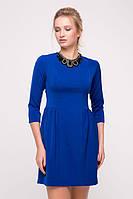 Платье с ожерельем FORT синее