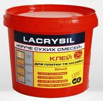 Клей для мозаики и плитки LACRYSIL 3кг белый