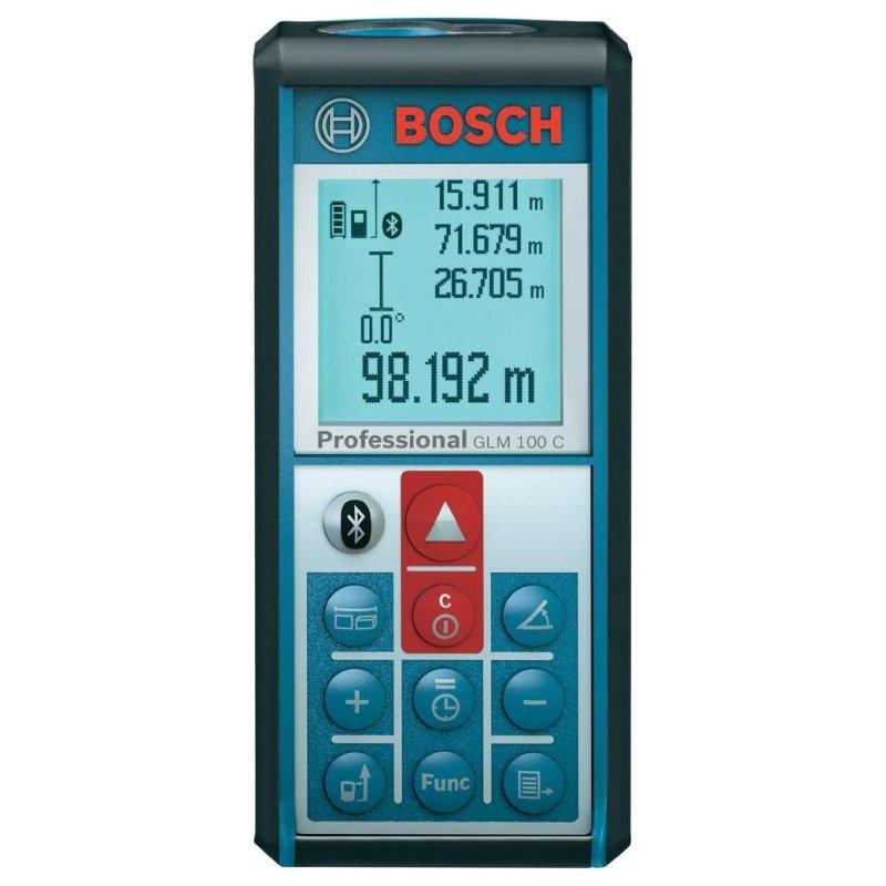 Лазерный дальномер Bosch GLM 100 C, 0601072700