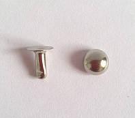 Холнитен полусфера 6 мм - никель