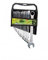 Набор ключей комбинированных Alloid НК-2005-15М (15шт.  6-22мм) пластик