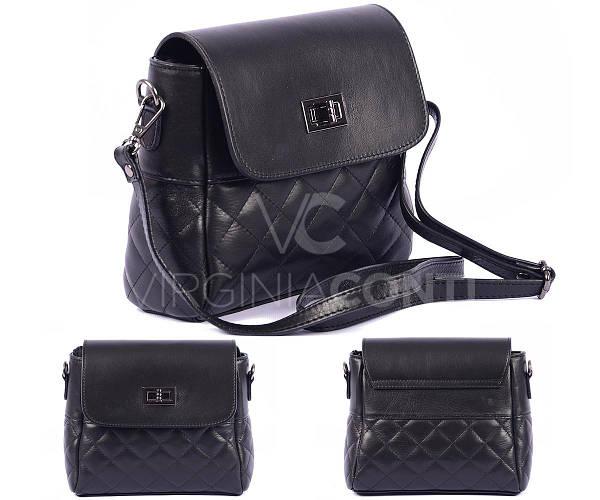 Стильная кожаная сумка Virginia Conti