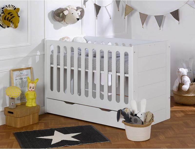 Детская модульная кроватка  Lit Module Blanc