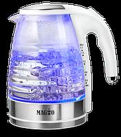 Чайник электрический стекло 1,7л. Magio MG-510