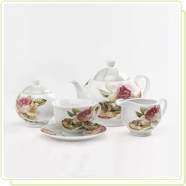 Чайный сервиз 17пр. Maestro MR10011-17S
