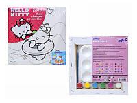 Холст с контуром 20х20 см Hello Kitty /1/24/96/