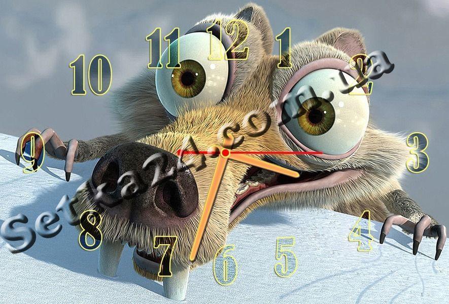 """Часы настенные """"Белка"""" (30х45 см)"""