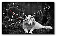 """Часы настенные """"Волк"""" (30х50 см)"""