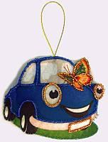 Набор для шитья игрушки из фетра Машинка БФ F 036