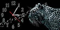"""Часы настенные """"Леопард"""" (30х60 см)"""