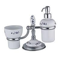 Набор аксессуаров для ванной комнаты Egizia 439 doppia