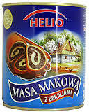 Маковая начинка Helio Masa Makowa z bakaliami 850г