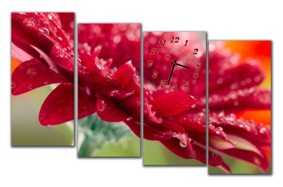 Часы настенные модульные 120х65см M138