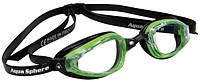 Окуляри для плавання K180+ GN/BLK L/CL (зелено-чорний; лінзи прозорі)