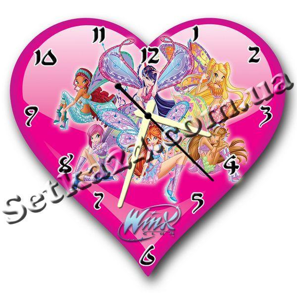 Часы настенные фигурные