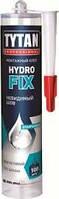 Клей монтажный безцветный 310 мл Tytan Hidro Fix