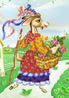 Схема для вышивки бисером 2015 Год хозяюшки-козы