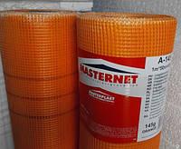 Стеклосетка фасадная 160м3 оранжевая