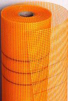 Стеклосетка фасадная оранжевая