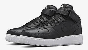 Мужские кроссовки Nike Lab Air Force 1 Mid Leather, Найк Аир Форс, фото 2